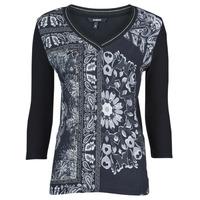 textil Dame T-shirts m. korte ærmer Desigual VARSOVIA Flerfarvet