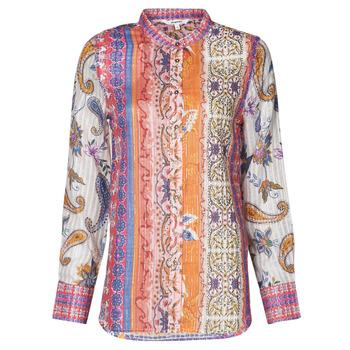 textil Dame Langærmede T-shirts Desigual BOHO Flerfarvet