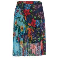 textil Dame Nederdele Desigual BUNY Flerfarvet