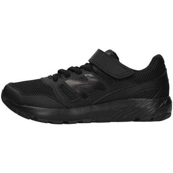 Sko Dreng Lave sneakers New Balance YT570AB2 BLACK
