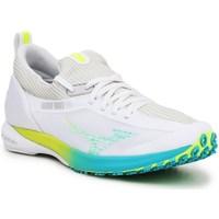 Sko Dame Lave sneakers Mizuno Wave Duel 2 Hvid