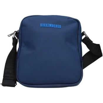 Tasker Herre Skuldertasker Bikkembergs E2BPME1Q0022 NAVY BLUE