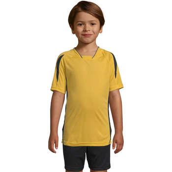 textil Børn T-shirts m. korte ærmer Sols Maracana - CAMISETA NIÑO MANGA CORTA Amarillo