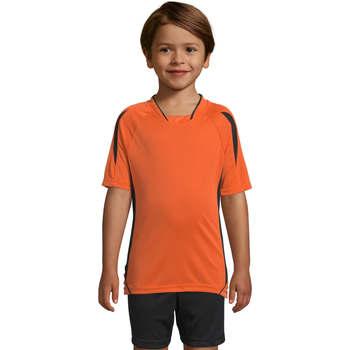 textil Børn T-shirts m. korte ærmer Sols Maracana - CAMISETA NIÑO MANGA CORTA Naranja