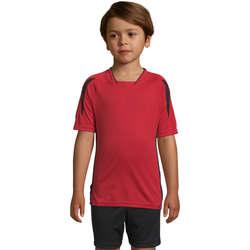 textil Børn T-shirts m. korte ærmer Sols Maracana - CAMISETA NIÑO MANGA CORTA Rojo