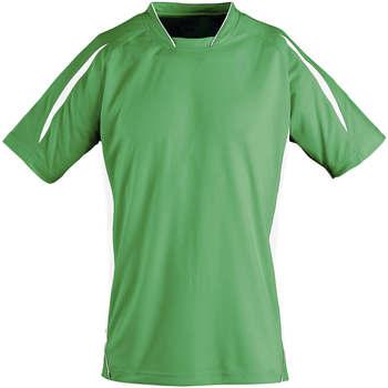 textil Børn T-shirts m. korte ærmer Sols Maracana - CAMISETA NIÑO MANGA CORTA Verde