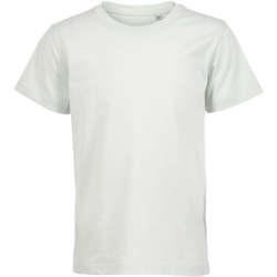 textil Børn T-shirts m. korte ærmer Sols Camiseta de niño con cuello redondo Verde