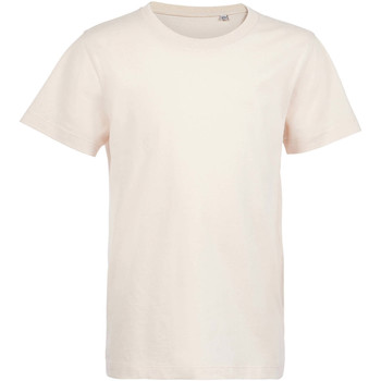 textil Børn T-shirts m. korte ærmer Sols Camiseta de niño con cuello redondo Rosa