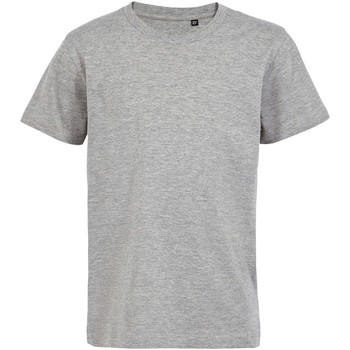 textil Børn T-shirts m. korte ærmer Sols Camiseta de niño con cuello redondo Gris