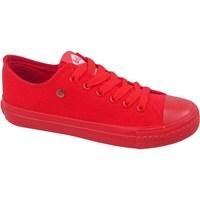 Sko Dame Lave sneakers Lee Cooper LCWL2031046 Rød