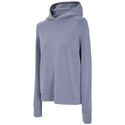 textil Dame Sweatshirts 4F BLD017 Lilla