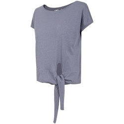 textil Dame T-shirts m. korte ærmer 4F H4L21 TSD023 Lilla