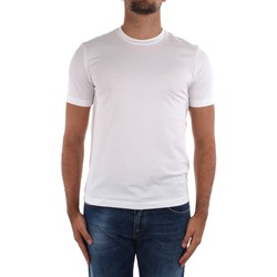textil Herre T-shirts m. korte ærmer Cruciani CUJOSB G30 White