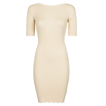 textil Dame Korte kjoler Yurban PAULINO Beige