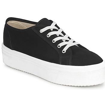Sko Dame Lave sneakers Yurban SUPERTELA Sort