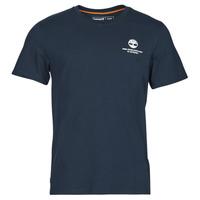 textil Herre T-shirts m. korte ærmer Timberland CC ST TEE Blå