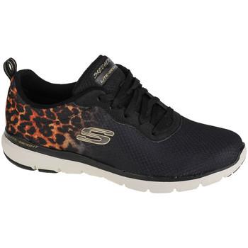 Sko Dame Lave sneakers Skechers Flex Appeal 3.0 Sort