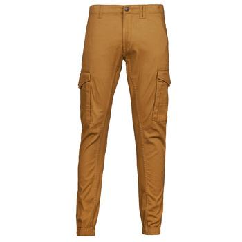 textil Herre Cargo bukser Jack & Jones JJIPAUL Kamel