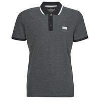 textil Herre Polo-t-shirts m. korte ærmer Jack & Jones JCOCHARMING Sort