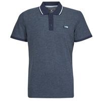 textil Herre Polo-t-shirts m. korte ærmer Jack & Jones JCOCHARMING Marineblå