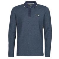 textil Herre Polo-t-shirts m. lange ærmer Jack & Jones JCOCHARMING Marineblå