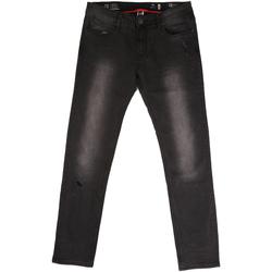 textil Herre Lige jeans Gaudi 721BU26044 Sort