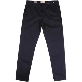 textil Herre Chinos / Gulerodsbukser Gaudi 721BU25006 Blå