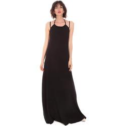 textil Dame Lange kjoler Trussardi 56D00519-1T005183 Sort