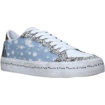Sko Dame Lave sneakers Manila Grace S642DU Blå