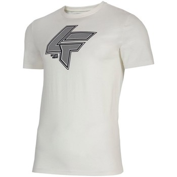 textil Herre T-shirts m. korte ærmer 4F TSM010 Hvid