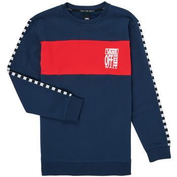 textil Pige Sweatshirts Vans SOLAL Blå / Rød