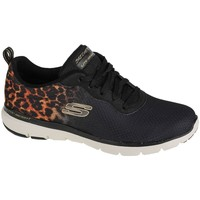 Sko Dame Lave sneakers Skechers Flex Appeal 30 Sort