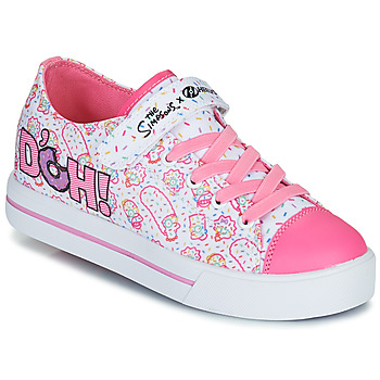 Sko Børn Sko med hjul Heelys Snazzy Hvid / Pink / Lavendel