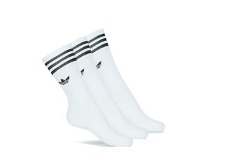 Undertøj Langskaftede strømper adidas Originals SOLID CREW SOCK X3 Hvid
