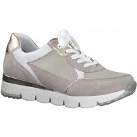 Sko Dame Lave sneakers Marco Tozzi Dune Comb Casual Trainers Beige