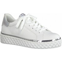 Sko Dame Lave sneakers Marco Tozzi White Comb Casual Trainers hvid