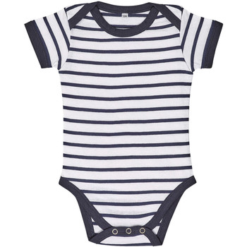 textil Børn Sæt Sols Body bebé a rayas Azul