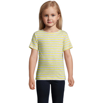textil Børn T-shirts m. korte ærmer Sols Camiseta niño cuello redondo Gris
