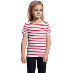 textil Børn T-shirts m. korte ærmer Sols Camiseta niño cuello redondo Rojo