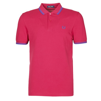 textil Herre Polo-t-shirts m. korte ærmer Fred Perry TWIN TIPPED FRED PERRY SHIRT Rød