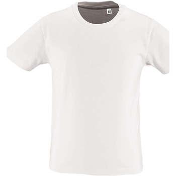textil Børn T-shirts m. korte ærmer Sols CAMISETA DE MANGA CORTA Blanco