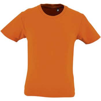 textil Børn T-shirts m. korte ærmer Sols CAMISETA DE MANGA CORTA Naranja