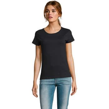 textil Dame T-shirts m. korte ærmer Sols CAMISETA DE MANGA CORTA Negro