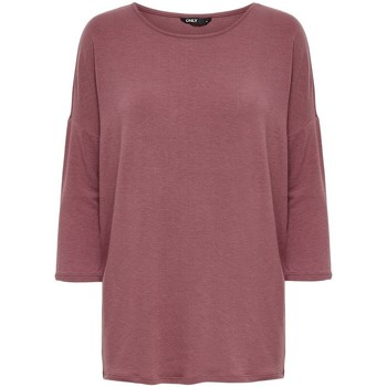 Langærmede T-shirts Only  T-shirt femme  Glamour manches 3/4