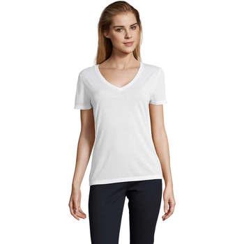 T-shirts m. korte ærmer Sols  MOTION camiseta de pico mujer