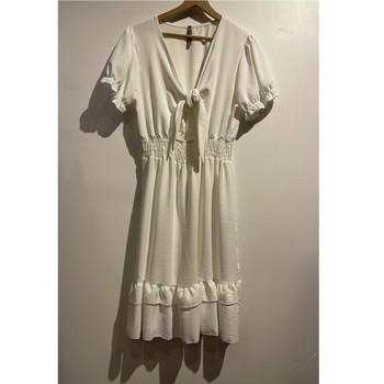 textil Dame Korte kjoler Fashion brands 9176-BLANC Hvid