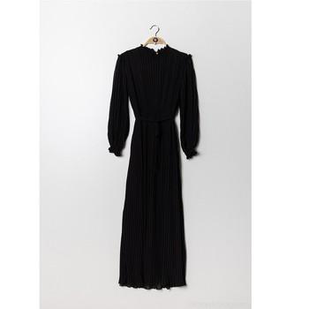 textil Dame Korte kjoler Fashion brands 9805-NOIR Sort