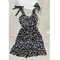 textil Dame Korte kjoler Fashion brands 5165-NOIR Sort