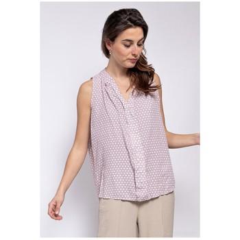 textil Dame Toppe / Bluser Fashion brands TP25-PINK Pink
