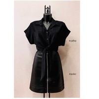 textil Dame Toppe / Bluser Fashion brands ERMD-13819-N-BLACK Sort